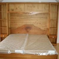 Franciaágy matraccal és szekrénnyel a Nemes Bútortól -14