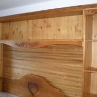 Franciaágy matraccal és szekrénnyel a Nemes Bútortól -13