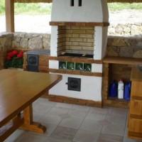 Nagy méretű kerti étkező asztal a Nemes Bútortól -12