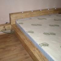 Franciaágy matraccal és sarokpolccal a Nemes Bútortól -10