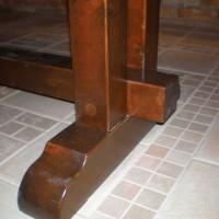 Nagy méretű étkező asztal a Nemes Bútortól -4