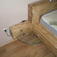 Franciaágy matraccal és sarokpolccal a Nemes Bútortól -8