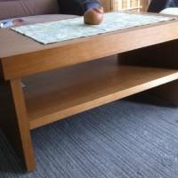 Dohányzóasztal polccal nappaliba a Nemes Bútortól -2