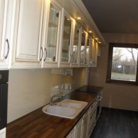 Egyedi konyhaszekrény beépített világítással a Nemes Bútortól -78