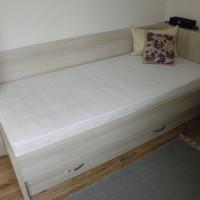 Kihúzható ágyneműtartós ágy matraccal a Nemes Bútortól -2