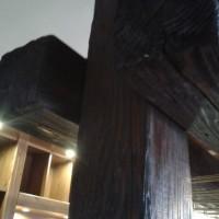 Bárpult régi gerendából egyedi igény alapján a Nemes Bútortól -2
