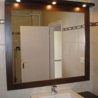 Egyedi fürdőszobai tükör világítással a Nemes Bútortól -19