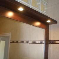 Egyedi fürdőszobai tükör világítással a Nemes Bútortól -15