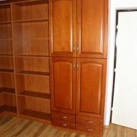 Egyedi készítésű ruhás és könyves szekrény a Nemes Bútortól - 51