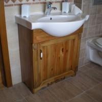 Egyedi beépített mosdó és szekrény a Nemes Bútortól -11