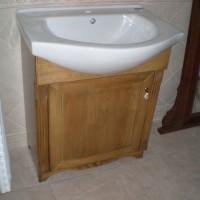 Egyedi beépített mosdó és szekrény a Nemes Bútortól -10