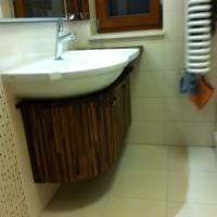 Egyedi beépített mosdó és szekrény a Nemes Bútortól -6