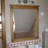 Egyedi fali tükör világítással fürdőszobába a Nemes Bútortól -3