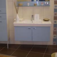 Egyedi beépített mosdó és szekrény a Nemes Bútortól -2