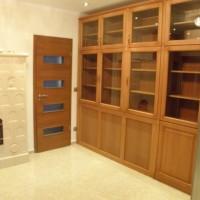 Egyedi készítésű vitrines szekrény a Nemes Bútortól - 55